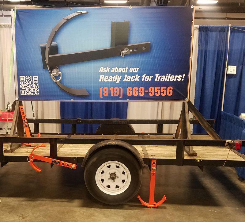trailer tire jack